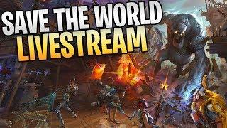 Fortnitemare Save The World Livestream