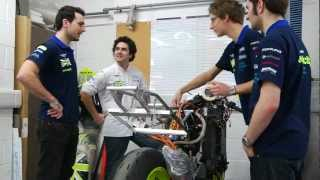 Kingston Stories: Motorsport Engineer Paul Brandon explains Kingston University's electric motorbike