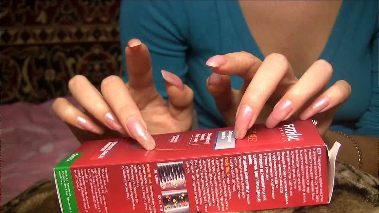 ASMR: tapping on table with long pink fingernails by kreolla (video ...