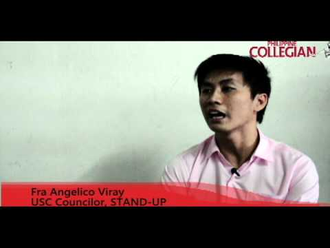 (Kule interviews) STAND-UP Councilor Fra Angelico Viray