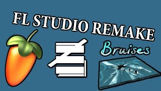 Juliette Reilly - Bruises (FL STUDIO INSTRUMENTAL REMAKE)