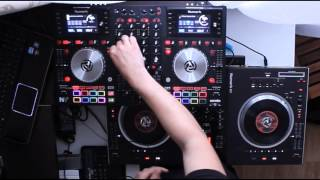 Numark NV + Numark NS7 House mix