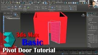 3ds Max Pivot Door Tutorial