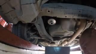 #4!Toyota Camry 2.5L Замена масла и масленого фильтра.