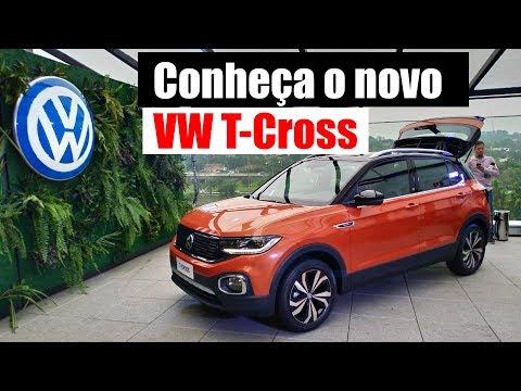 T-CROSS: O NOVO SUV DA VOLKSWAGEN/ Vrum Brasília