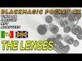 Blackmagic Pocket Cinema Camera 4k: lenses: VINTAGE, MFT, C-MOUNT