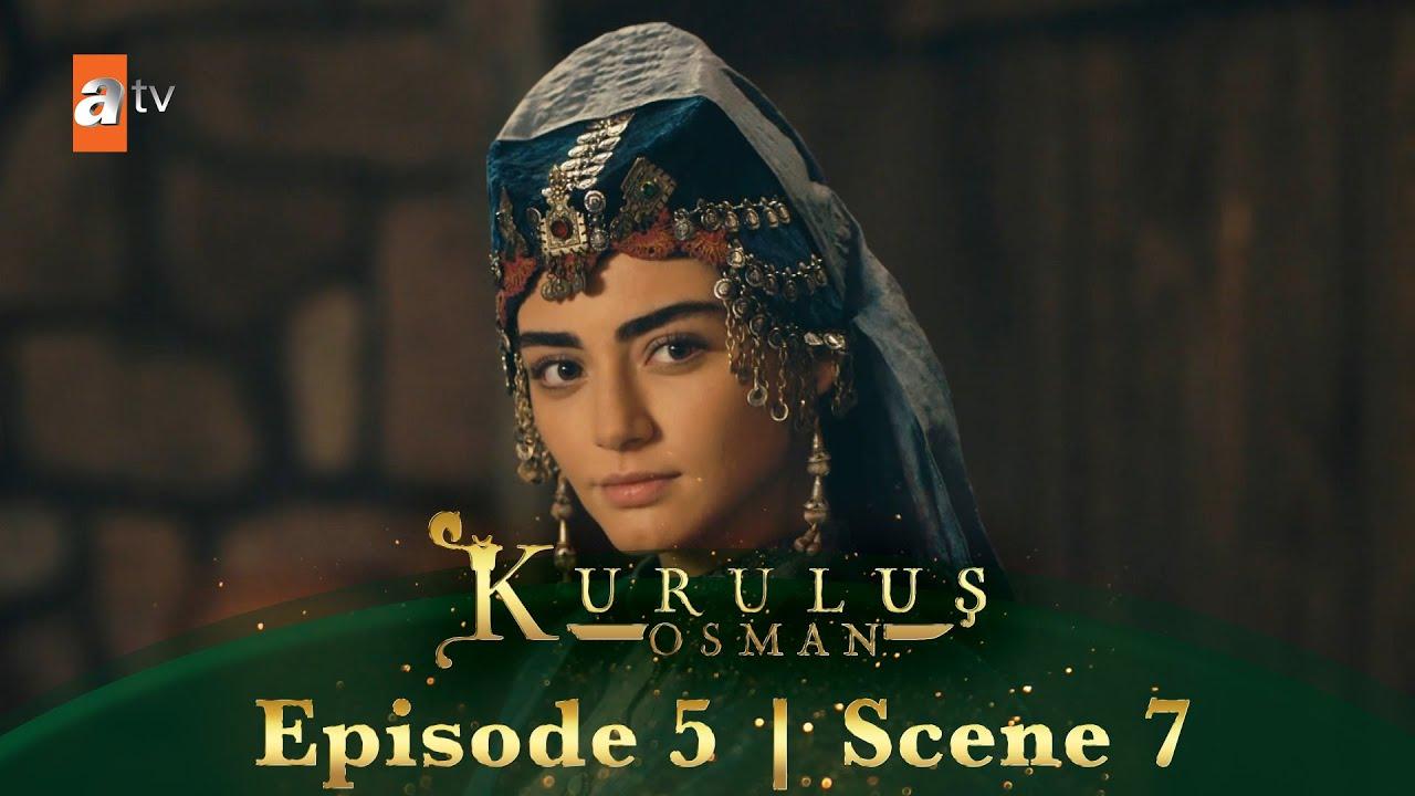 Kurulus Osman Urdu | Episode 5 - Scene 7