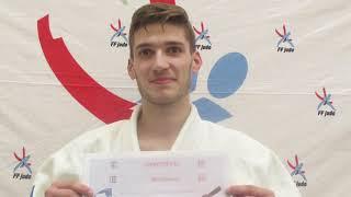 Passage de grades dans la ligue judo des hauts de france 9 juin 2018