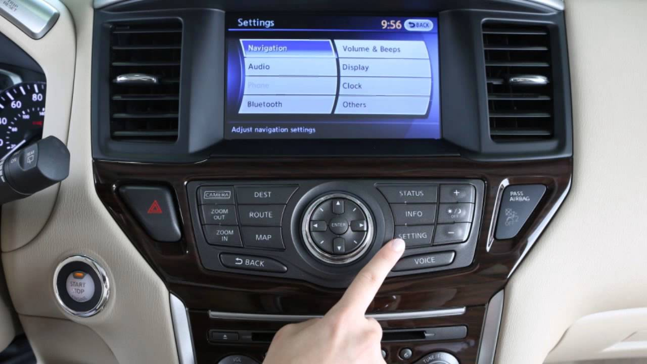 2013 Nissan Pathfinder Audio System With Navigation