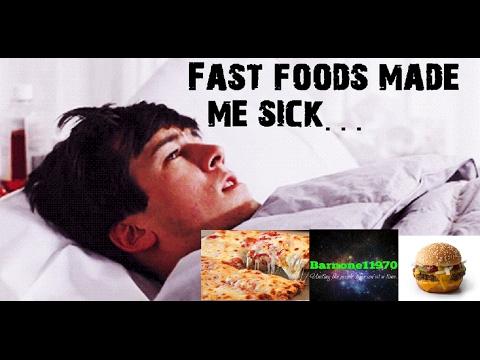 Fast foods making us sick...