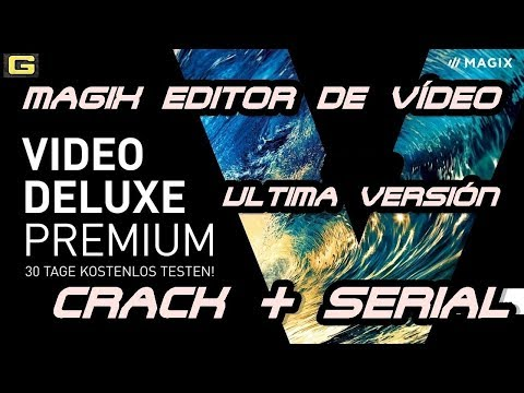 MAGIX Video deluxe 17  premium / GRATIS / crack+serial/en español