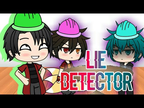 The Lie Detector Game | Gacha Life