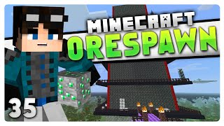 Minecraft OreSpawn: S2 #35 | THE QUEENS TOWER (Orespawn Mod)