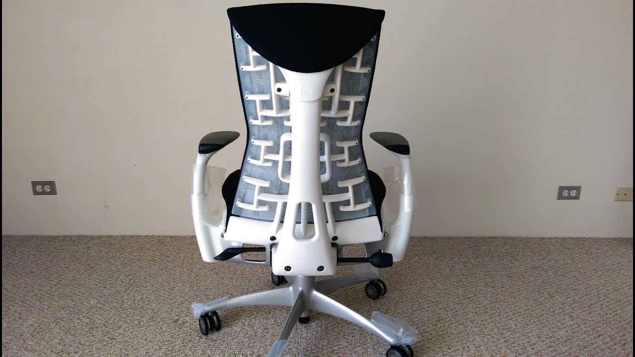 Herman Miller Embody Chair Long Review - YouTube