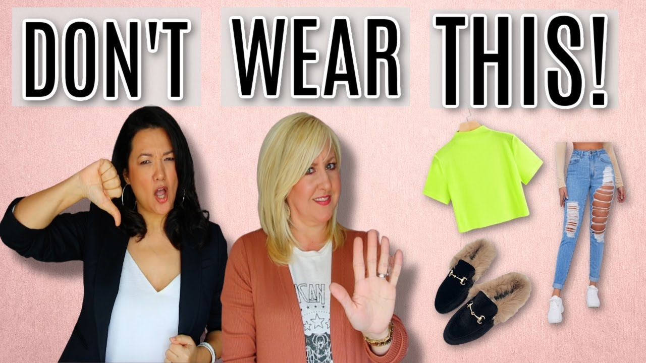 8 Trends to Ditch in 2021   Worst Fashion Items for Women Over 40 & What to Wear Instead