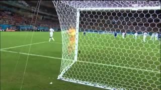 Joe Hart Swears and Yells For the Ball After Pirlo Freekick (England vs Italy) FIFA World Cup 2014