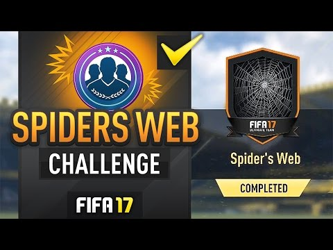 SPIDERS WEB ULTIMATE SCREAM SBC (EASY METHOD/COMPLETED) - #FIFA17 Ultimate Team