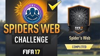 SPIDERS WEB ULTIMATE SCREAM SBC (EASY METHOD/COMPLETED) - #FIFA17 Ultimate Team