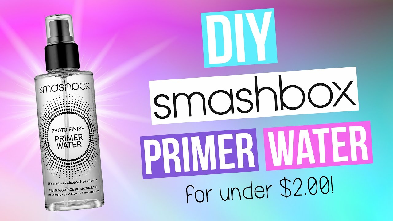 Diy smashbox primer water youtube solutioingenieria Image collections