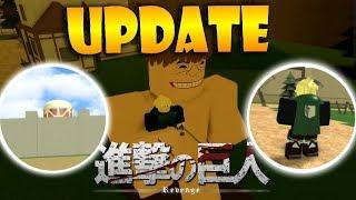 CAPES UND COLOSSAL TITAN UPDATE!! | Roblox: Angriff auf Titan Revenge