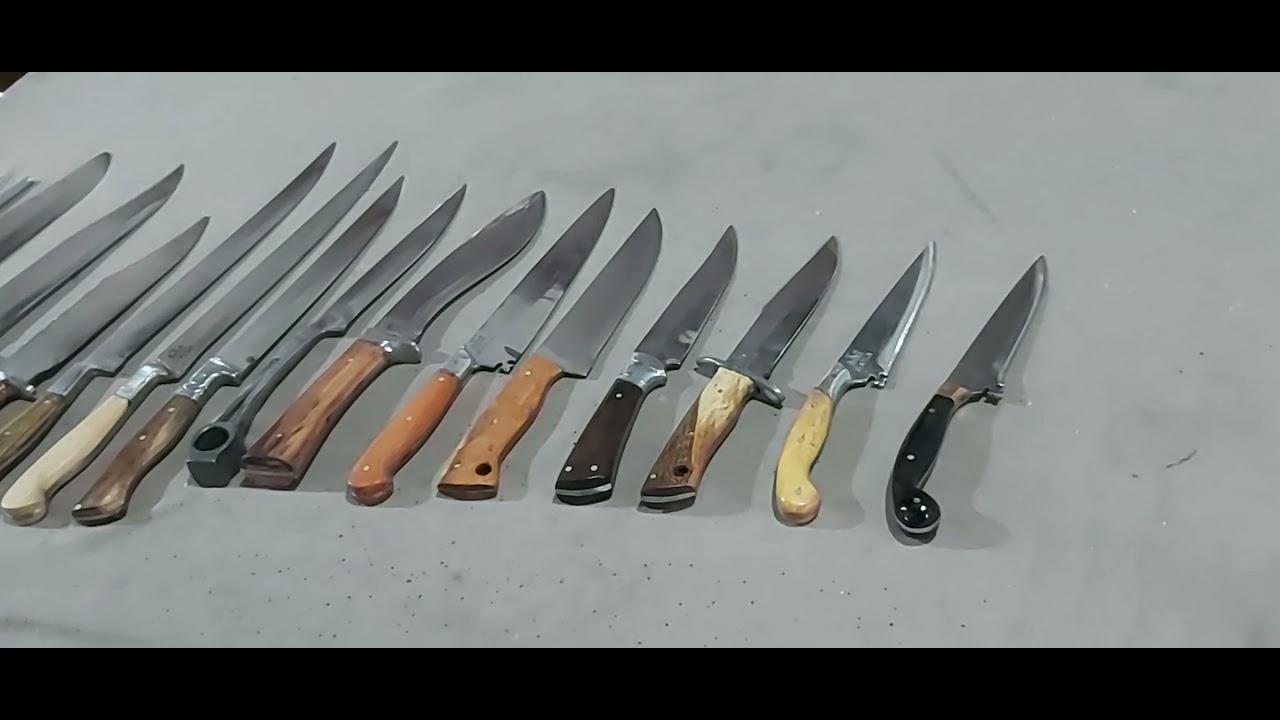 facas do leilão de hoje