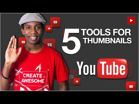 5 Best Tools for Making Custom YouTube Thumbnails