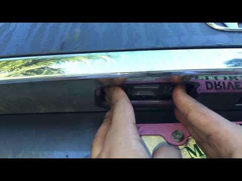 2013-2017 Honda Accord License Plate Bulb Change DIY