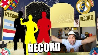 PACK OPENING y RECORD ABSOLUTO! Me vuelvo loco.-