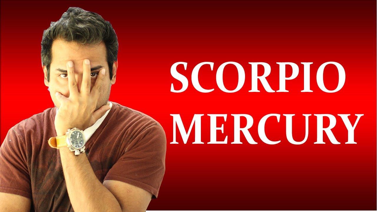Mercury in Scorpio in Astrology (All about Scorpio Mercury zodiac sign)