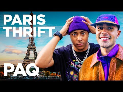 Thrifting In Paris… (100 Euro Budget!)