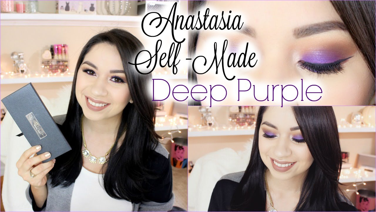 anastasia beverly hills eyeshadow tutorial