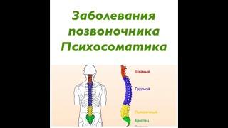 Позвоночник Психосоматика ( невралгии, смещения, грыжи, болезнь Бехтерева, грыжи )