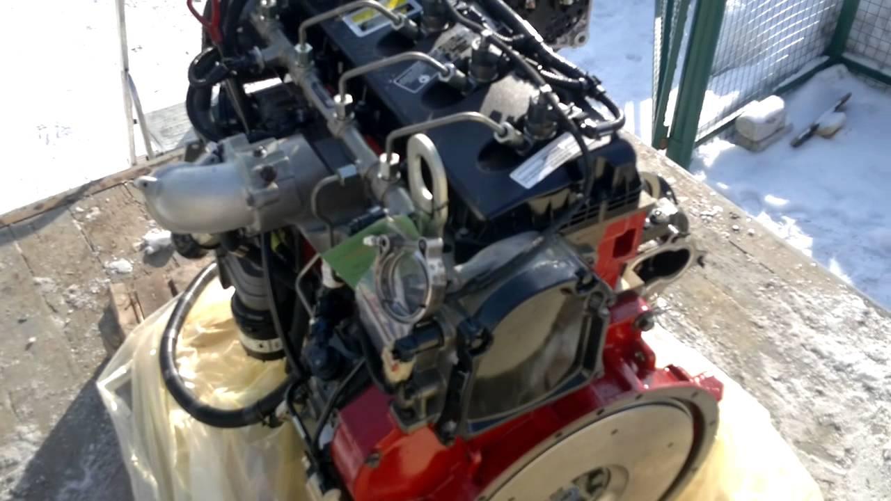 Двигатель Cummins ISF 2.8 в сборе на автомобиль ГАЗель (Евро 3)