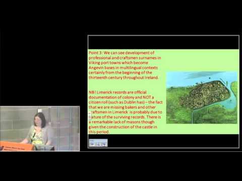 Cathy Swift - The multilingual origins of medieval Irish sur