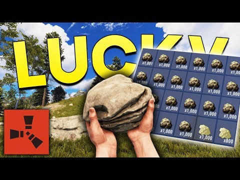 THE LUCKIEST SPAWN! - Rust SOLO Gameplay thumbnail