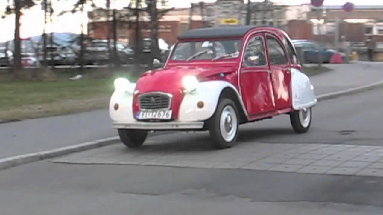 citroen 2cv electric conversion