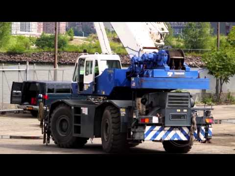 Crane Operators Agree: Tadano Products are Smooth and Easy to Run