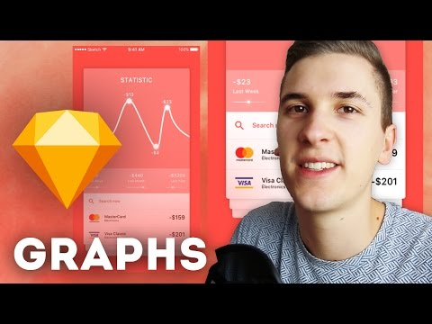 Working with Graphs in UI Design • Sketchapp Tutorial / Sketch 4 Tutorial