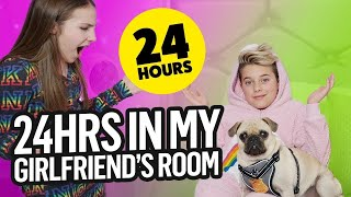 24 Hours OVERNIGHT In PIPER'S ROOM | Gavin Magnus