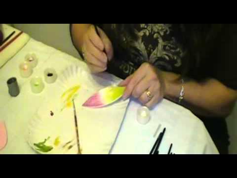 Como pintar la goma eva - YouTube