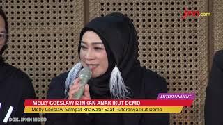 Melly Goeslaw Izinkan Anaknya Ikut Demo ke DPR - JPNN.com