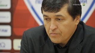 После матча: Юрий Уткульбаев