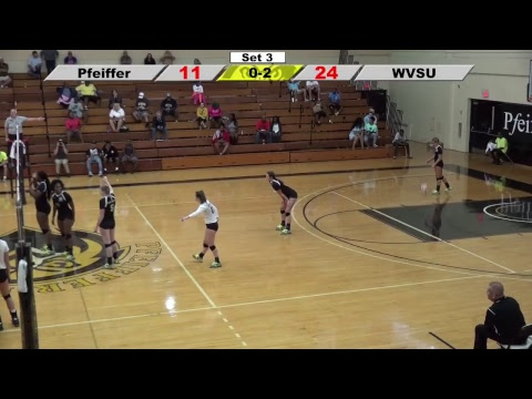 9/2/17 Women's Volleyball v. West Virginia State