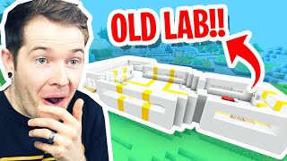 I Built the OLD LAB in Minecraft Ultra Hardcore!