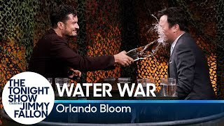 Water War with Orlando Bloom