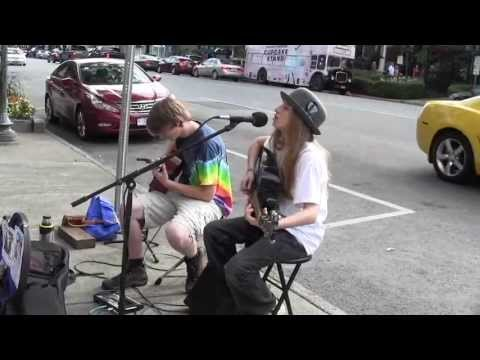 "Art and Sawyer Fredericks- Original ""4 Pockets"" in Saratoga Springs"