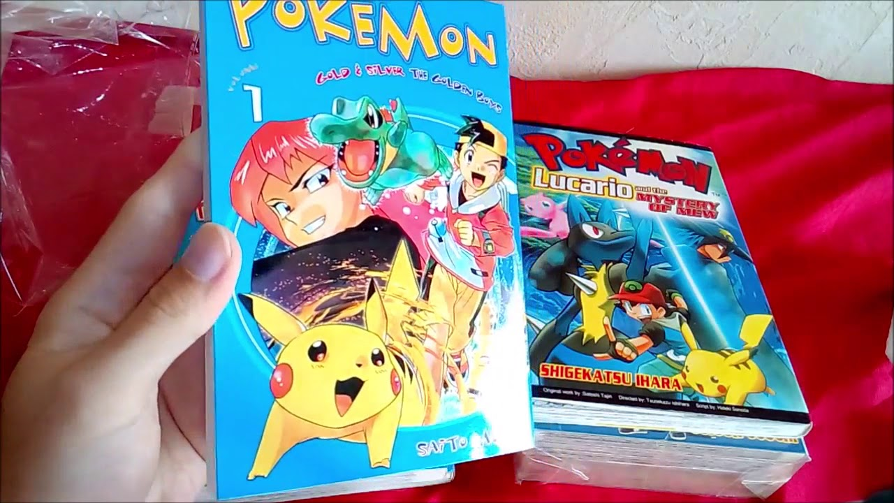 Pokémon Chuang Yi Manga aus Singapur 1: Lucario & the Mystery of Mew + Gold & Silver The Golden Boys