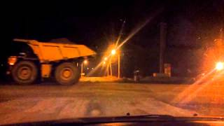 Еристовский ГОК, ночь. Eristovo mining, night(, 2013-03-01T23:07:43.000Z)