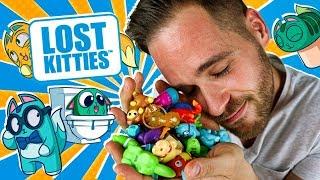 Lost Kitties Series 1 UNBOXING PACK 5 CAJAS SORPRESA | Mega UNBOXING Lost Kitties Hasbro en Pe Toys