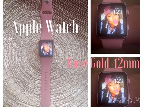 unboxing:-rose-gold-apple-watch-sport-42mm-+-apple-watch-sport-band-(vintage-rose)